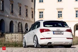 Audi Q5 White - vossen wheels audi q5 cars suv white modified wallpaper
