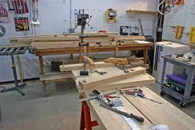 Woodshop Floor Plans by Best Garage Woodshop Ideas