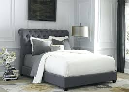 Grey Upholstered Ottoman Bed Grey Fabric Bed Frame Sareer Signature Remy Upholstered