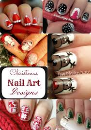 christmas nail art ideas simple and intricate patterns you u0027ll love