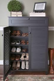 shoe cabinet home design ideas
