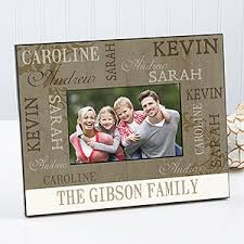 personalized photo frames our loving family