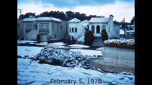thanksgiving day 1976 1976 feb 5 snow in s f youtube
