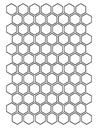 printable hexagon templates for your creative craft or project