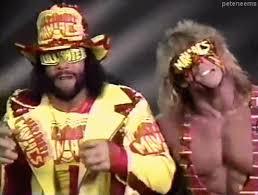 Macho Man Randy Savage Meme - gif 90s wwe wwf randy savage pro wrestling ultimate warrior macho