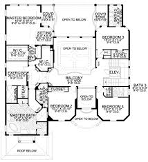 Mediterranean Style House Plan 6 Beds 5 50 Baths 5445 Sq Ft Plan