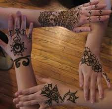 jewish henna pattern for those festive college days and henna