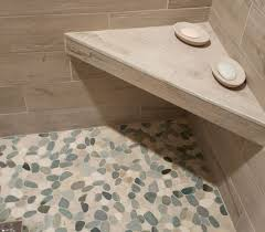 Bathroom Shower Floor Ideas Floor Contemporary Ideas Pebble Tile Shower Floor Luxury Design