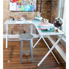 L Corner Desk Wrought Studio Ferro L Shape Corner Desk Reviews Wayfair