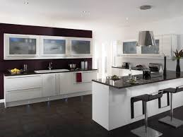 kitchen modern small kitchen design layout ideas with blue tile