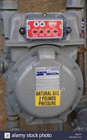 atlanta gas and light natural gas pressure meter atlanta gas light company stock photo