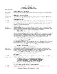sample resume for account executive sample resume for special education assistant free resume resume teaching assistant examples