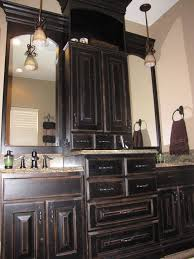 Black Distressed Bathroom Vanity Best 25 Black Distressed Cabinets Ideas On Pinterest Diy