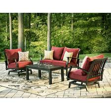 allen roth patio furniture with cushions for cozy outdoor lowes