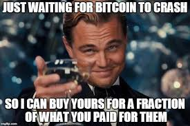 Bitcoin Meme - the rich right now imgflip