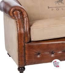 canape vintage cuir acheter canapé en cuir vintage polo par 1199 thecrazyfifties es