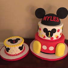 mickey mouse cake mickey mouse club house birthday cakes by calynne kaden