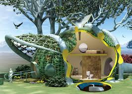 could woven tree houses be the future of residential architecture