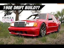 build mercedes slammed mercedes 190e drift build forza horizon 3