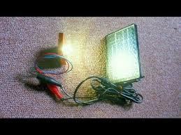 self powered light bulb youtube