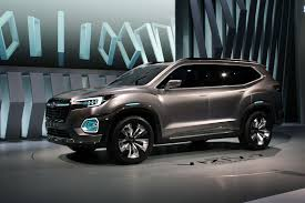subaru viziv viziv 7 concept previews upcoming subaru suv with 7 seats