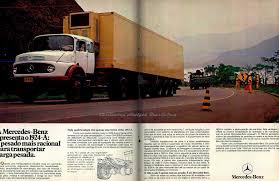 mercedes benz 1924 a caminhões antigos brasileiros