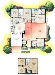 courtyard home plans u shaped courtyard home plans house plans u