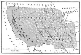 United States Map 1850 by United States Territory 1789 1900 California