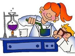 artwork of kids doing science experiments