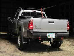 2007 toyota tacoma rear bumper is there an road rear bumper with factory tow hitch available