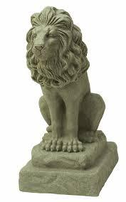lion statues for sale emsco guardian lion statue sandstone