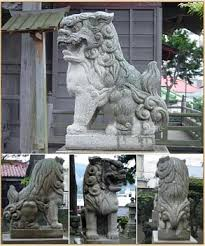 lion dog statue shishi lion protector in japanese buddhism and shintoism