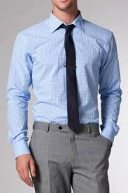 the tactician light blue gingham shirt indochino style