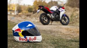 motocross helmet red bull kask boyama 2 helmet painting redbull youtube