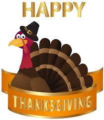 happy thanksgiving turkey transparent png image gallery