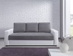 canape 3 place canapé 3 places esther blanc et gris