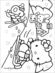free free printable winter coloring pages all coloring ideas