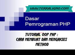 cara membuat x banner dengan publisher tutorial oop php cara membuat dan mengakses method php tutorials