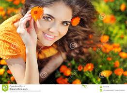 beauty happy romantic woman outdoors beautiful teenage emb