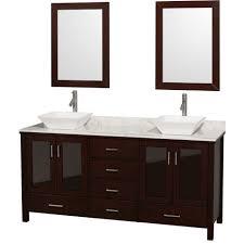Bathroom Vanities With Vessel Sinks by Bathroom Vanity Bathroom Vanity With Vessel Sink L Walnut