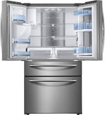 samsung showcase 27 8 cu ft 4 door french door refrigerator