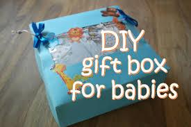 diy gift box for babies diy baby shower gift box youtube