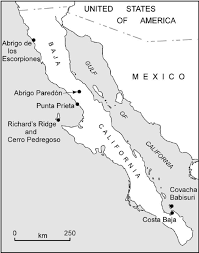 Map Of The Coast Of California Living On The Edge Early Maritime Cultures Of The Pacific Coast