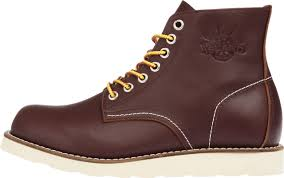 island heritage p6701 original 7 holes leather dress boots burgundy