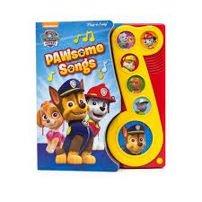 nickelodeon paw patrol pawsome songs sound book toys