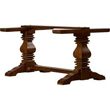 Pedestal Base For Dining Table Dining Tables Double Pedestal Table Base Wood Table Bases For