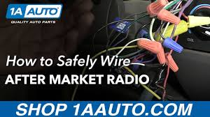 do u0027s and dont u0027s of after market car stereo wiring youtube