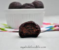 truffle whole foods no bake cookies my whole food traditional cooking school