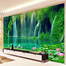 Chinese Style Home Decor Aliexpress Com Buy Chinese Style Waterfall Running Water 3d