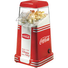 nostalgia rhp310coke coca cola 8 cup air popcorn maker